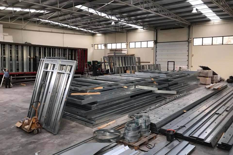 Fases de Construção em Aço Leve (LSF – Light Steel Frame)